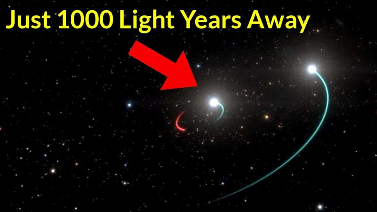 Closest Black Hole To Earth Has Been Discovered   2020 - YouTube